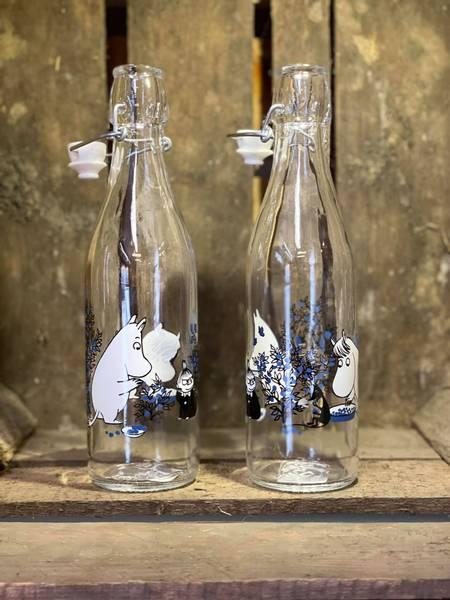 Bilde av Mummi Glassflaske Blueberry